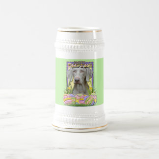 Easter Egg Cookies - Weimaraner Beer Stein