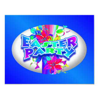 Easter Egg Decorating Party Invitation