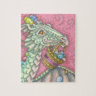 EASTER EGG DRAGON FANTASY PUZZLE Pink