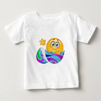 Easter egg Emoji Baby T-Shirt