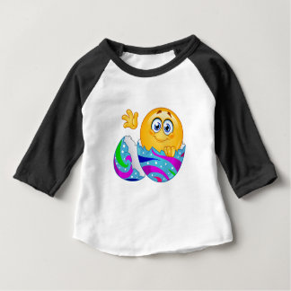 Easter egg Emoji Baby T-Shirt