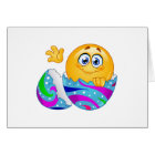 Easter egg Emoji Card