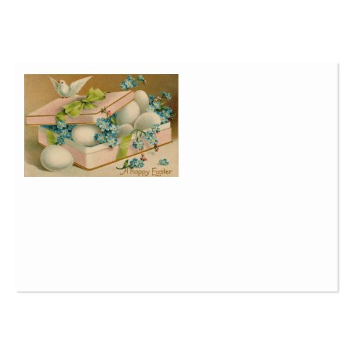 Easter Egg Forget Me Not Dove Gift Business Cards