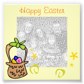 Easter Egg Frame Photo