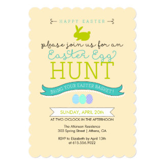 Easter Egg Hunt Invitation