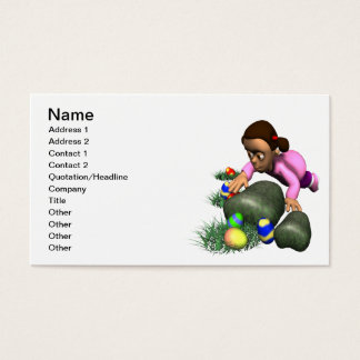 Easter Egg Hunting Business Card