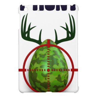 easter egg, I hunt easter deer eggs, funny shooter iPad Mini Cover