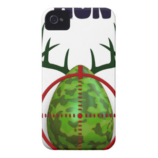 easter egg, I hunt easter deer eggs, funny shooter iPhone 4 Cover