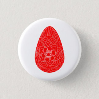 Easter egg icon 1 inch round button