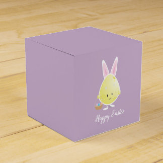 Easter Egg in Bunny Outfit | Favor Box