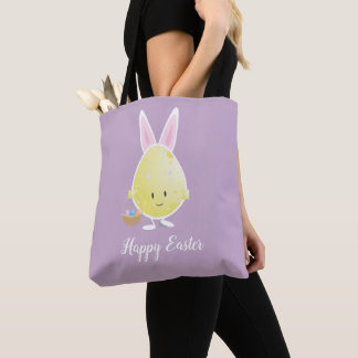Easter Egg in Bunny Outfit | Tote Bag