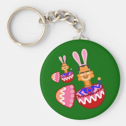 Easter egg keychains