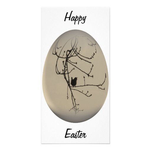 easter egg morning song photo greeting card