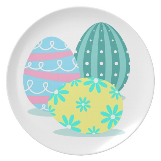 Easter Egg Party Serving Plate