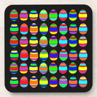 Easter Egg Pattern Coaster