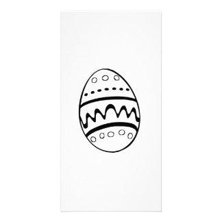 Easter Egg Custom Photo Card