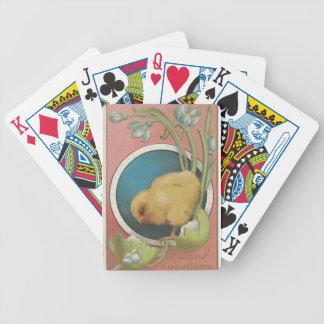 Easter Egg Postcard Poker Deck