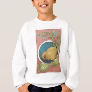 Easter Egg Postcard Sweatshirt