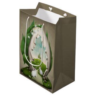 Easter Egg Rabbits Medium Gift Bag