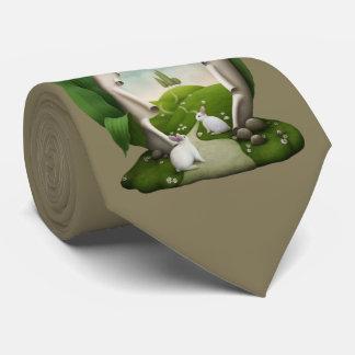 Easter Egg Rabbits Tie