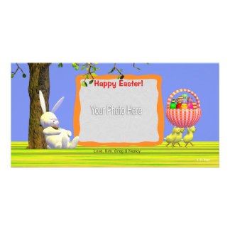 Easter Egg Robbers Photo Card