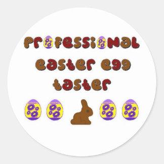 Easter Egg Sampling Round Sticker