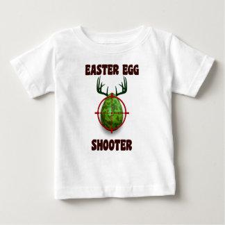 easter egg shooter, funny easter deer gift desgin baby T-Shirt