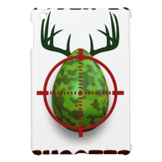 easter egg shooter, funny easter deer gift desgin iPad mini cover
