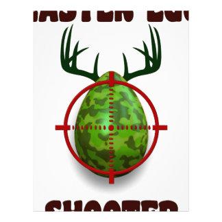 easter egg shooter, funny easter deer gift desgin letterhead template