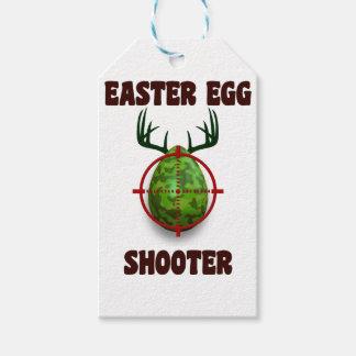 easter egg shooter, funny easter deer gift desgin pack of gift tags