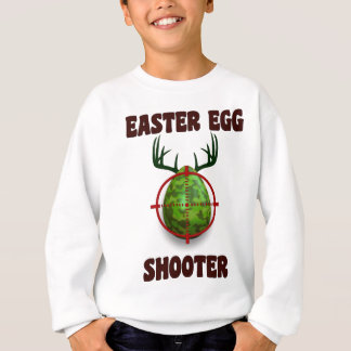 easter egg shooter, funny easter deer gift desgin sweatshirt