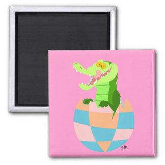 Easter egg!! :) square magnet
