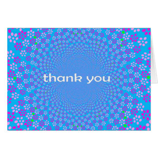 Easter Egg Thank You Card