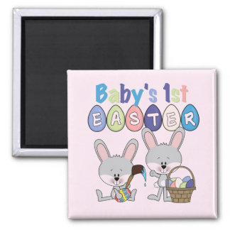 Easter Eggs 1st Easter T-shirts and Gifts Square Magnet