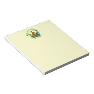 Easter Eggs and Butterflies Notepad