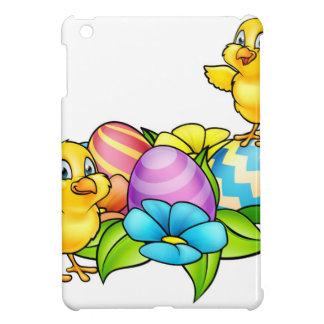 Easter Eggs and Chicks iPad Mini Covers