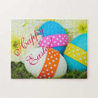 Easter Eggs and Mums Jigsaw Puzzle