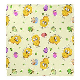 Easter Eggs & Baby Chicks Bandanna