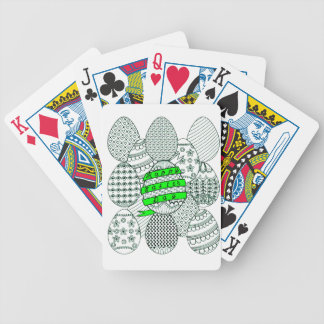 Easter Eggs Bicycle Playing Cards