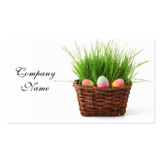 Easter Eggs Pack Of Standard Business Cards