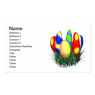 Easter Eggs Business Card