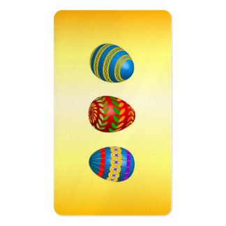 Easter Eggs Business Card Templates