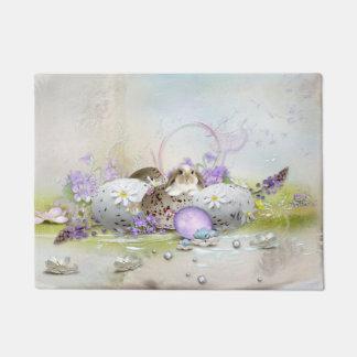 Easter Eggs Doormat