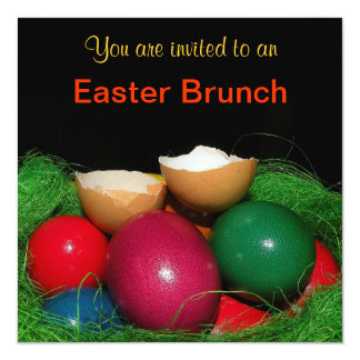 Easter eggs Easter party Invitation Card