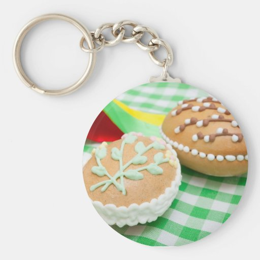 Easter eggs key chains