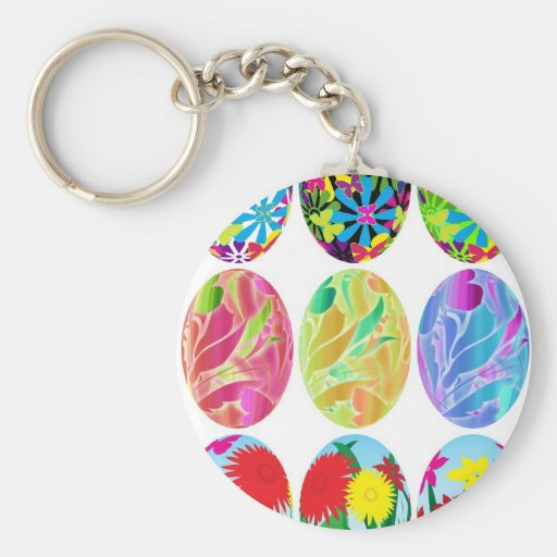 Easter Eggs Keychains