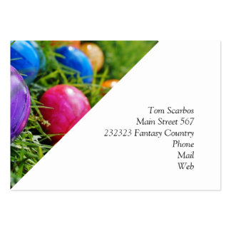 Easter Eggs Large Business Card