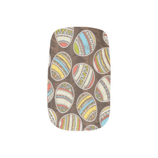 Easter Eggs Minx Fingernail Minx Nail Art