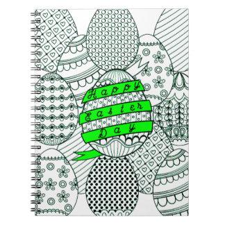 Easter Eggs Notebooks