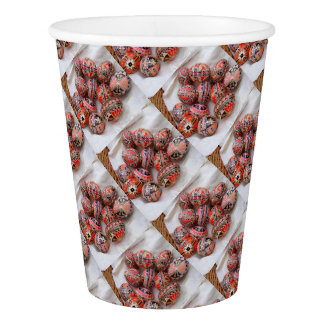 Easter Eggs Paper Cup